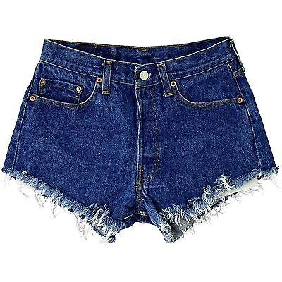 1970's Vintage Women's 4 Levi's 501 Denim Shorts Button Fly