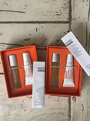 Lot Of 2 Md Skincare Serious Lip Treatment Step 1 And 2 New & Boxed