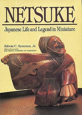 Antique Japanese Netsuke - History Types Makers Dates / Illustrated Book