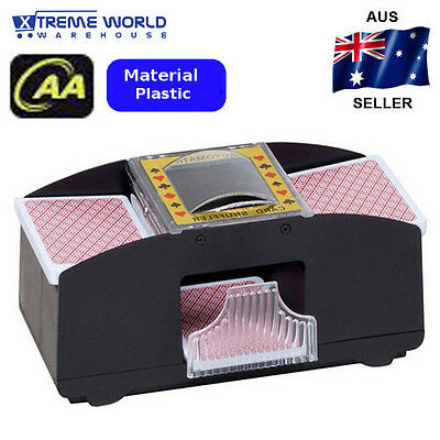 1-2 Deck Of Playing Card Poker Automatic Plastic Card Shuffle Machine