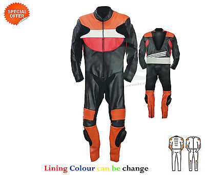 new one piece motorbike racing leather suit grand prix motorcycle riding suit