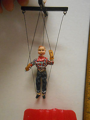 """Stanton Arts Howdy Doody 50th Marinette Puppet Christmas Ornament 3"""" in box"""