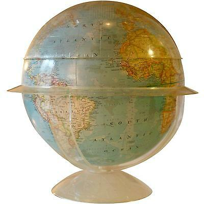 Delightful Vintage 1960s National Geographic Globe