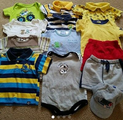 Baby Boy Summer Clothes Lot Size 3-6 Months