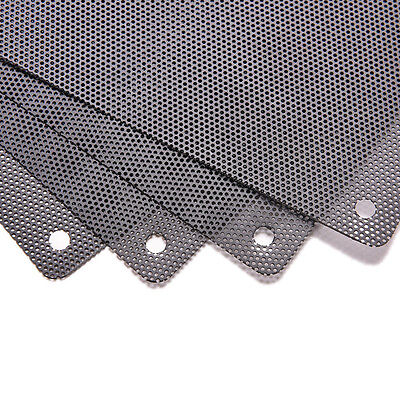 120mm 4 screw  Computer PC Dustproof Cooler Fan Case Cover Dust Filter Mesh RC