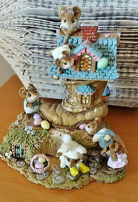 "Wee Forest Folk M-189a ""Easter Egg Scramble"" LIMITED EDITION 2006  Mint"