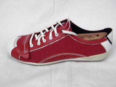 Women's Merrell Prouette Red Flat Canvas Low Top Shoes Size 9 New!!