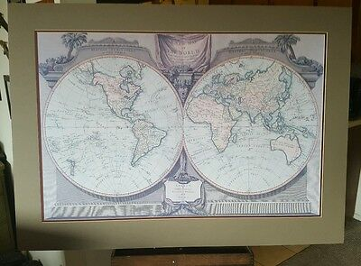 A new map of the world with Captain Cook's tracks, London 1794-Laurie&Whittle