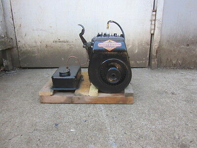 briggs stratton model WMB vintage gas engine hit n miss antique old