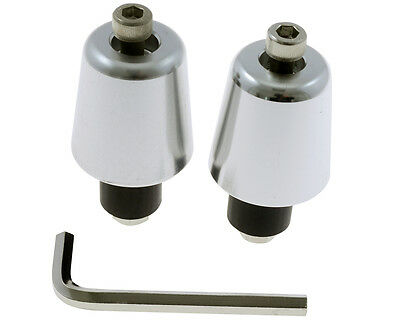 Barends Smmoth chrome pour 25mm guidon, moto