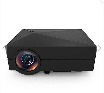 Portable Mini 1000LM Home Theater 800x480 LED LCD Projector 1080P HD