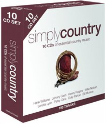 Various Artists-Simply Country  (UK IMPORT)  CD / Box Set NEW