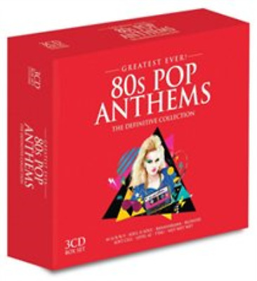 Various Artists-Eighties Pop Anthems  (UK IMPORT)  CD / Box Set NEW