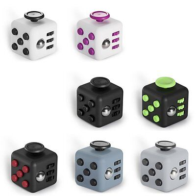 Fun Fidget Cube Anti-anxiety Stress Relief Focus Gift Toys For Adults Children