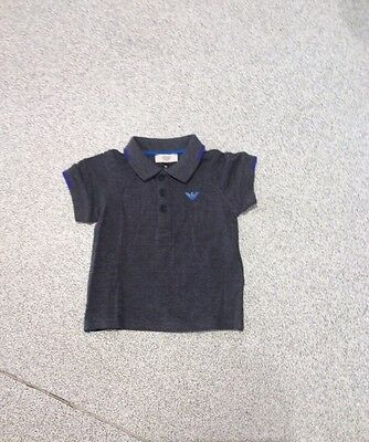 ARMANI Baby Boys Top,  18 months, Brand new with tag.