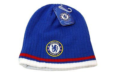 1203962042c Chelsea Fc Beanie Soccer New ! 2014-2015 Official Skull Cap Hat Winter  Authentic