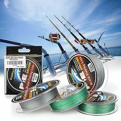TOP SALE Sea 500M 100% Dyneema Braid Fishing Line 20LB ULTRA-HIGH SENSITIVITY