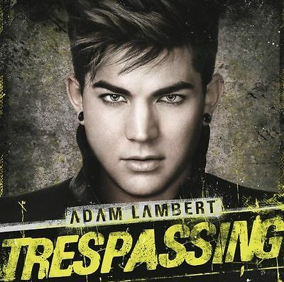 Adam Lambert - Trespassing (2012) deluxe edition cd  includes 3 bonus tracks