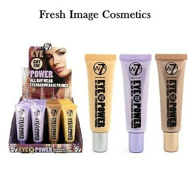 W7 Make UP - Eye Got The Power - Eye Shadow Primer Base Choose Your Shade sealed