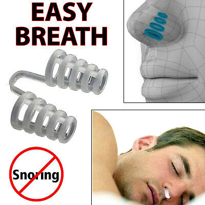 New Anti Snore Easier Breathe Easy Sleep Sleeping Aid Reusable Device Nose Clip