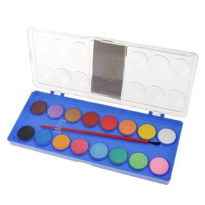 16 Colors Solid Art Watercolor Cake Outdoor Paint Pigment Painting Art Set