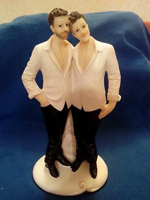 Topper Cake Omosessuali Gay Matrimonio Unione Civile Wedding Omosexual Torta