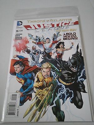 Justice League Issue 15 New 52 Batman Superman Wonder Woman