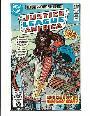 Justice League Of America # 186 (Jan  1980), Nm