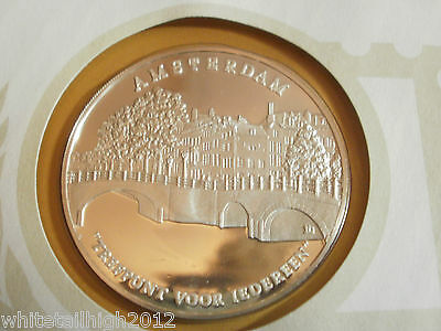 Amsterdam -honoring 700th Anniversary - 1975 Silver Proof Medal