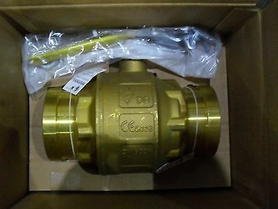 "Apollo 64WC0A01 4"" Copper press ball valve adjustable stem packing"