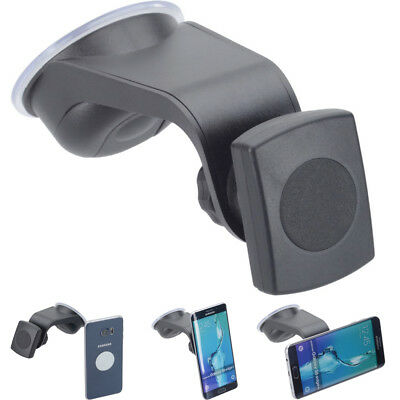 German made magnetic car holder and windscreen suction car dash mount