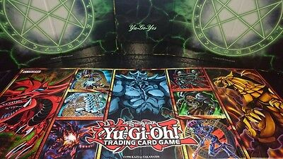 YuGiOh Rare Legendary collection Booster Pack Bundle Repack With Hard Game Board
