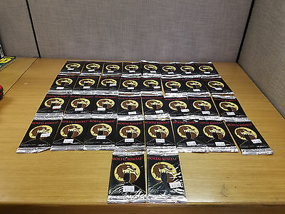 34 New Packs Mortal Kombat Trading Cards, Unopened!