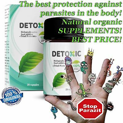 DETOX anti-parasite herbal protection healthy clean improves digestion appetite