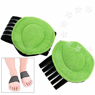2 x Support Arch Cushion Absorber Relief Flat Pain Feet Foot Care Instep pad