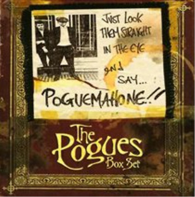 The Pogues-Just Look Them Straight in the Eye and  (UK IMPORT)  CD / Box Set NEW