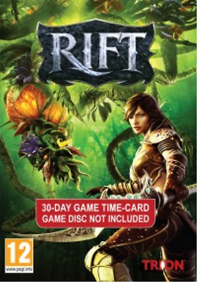 Other (Books/Toys/POS/Videos E-RIFT 30 DAY TIME CARD  (UK IMPORT)  AC NEW
