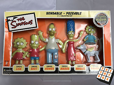 The Simpsons Bendable Poseable Treehouse of Horror