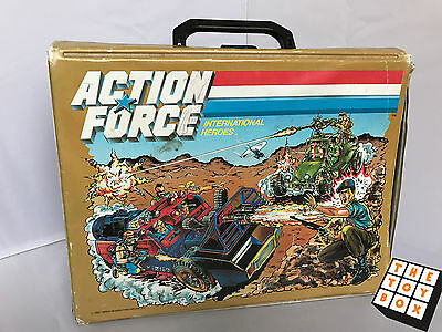 Action Force International Heroes Casette Holder Carry Case
