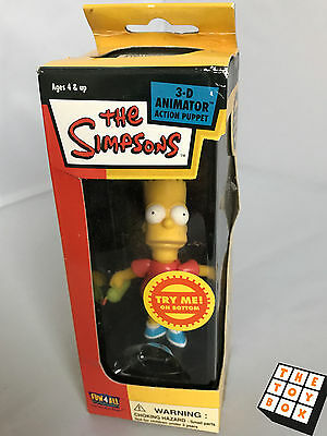 The Simpsons 3D Animator Action Puppet Bart Simpson