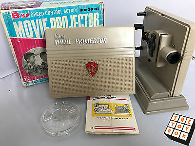 Vintage 8mm speed Control Action Movie Projector