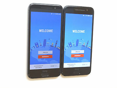 Lot of 2 HTC One A9 2PQ93 Sprint Smartphones Power On Good Charger Port AS-IS !