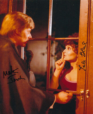 Martin Jarvis & Isla Blair SIGNED photo - J1200 - Taste the Blood of Dracula