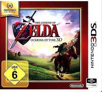Nintendo 3DS The Legend of Zelda Ocarina of Time 3S Selects NEW