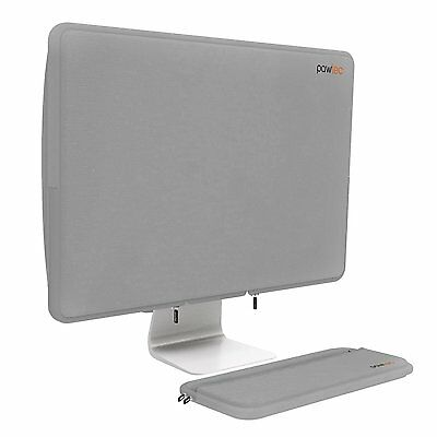 "Pawtec Apple 21.5"" iMac Neoprene Full Body Cover Sleeve w Keyboard Sleeve Silver"