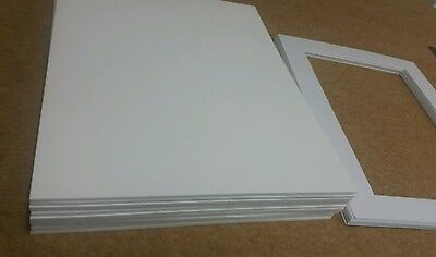 "12 x Professional Picture Framing Mat Board Backing 12"" x 16"""