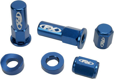 Factory Effex Rim Lock Kit Blue 0304-0090