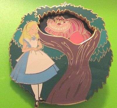 Disney Auction Alice In Wonderland Cheshire Cat Rare HTF LE Pin