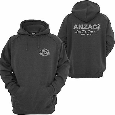 Lest We Forget Australian Army Defence Anzac Military Hoodie