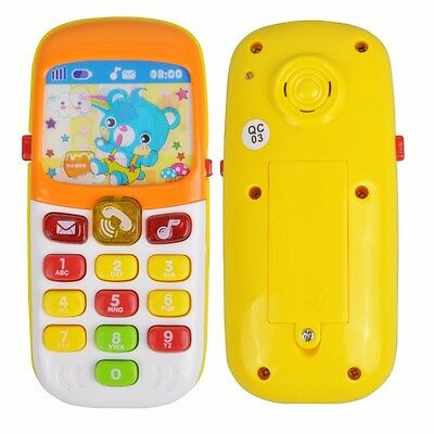 Electronic Toy Phone Kid Mobile Phone Cellphone Telephone Educational Learning T